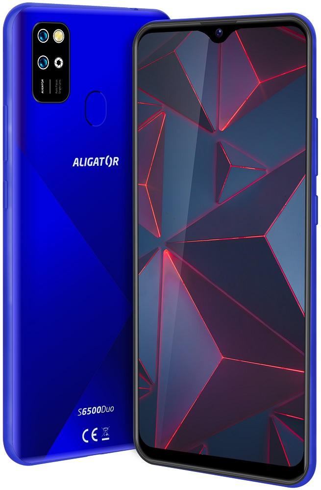 Aligator S6500 Duo Crystal 32GB modrá