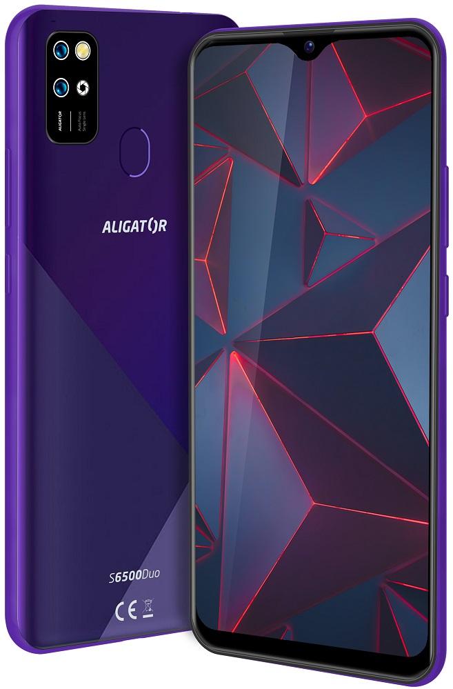 Aligator S6500 Duo Crystal 32GB fialová