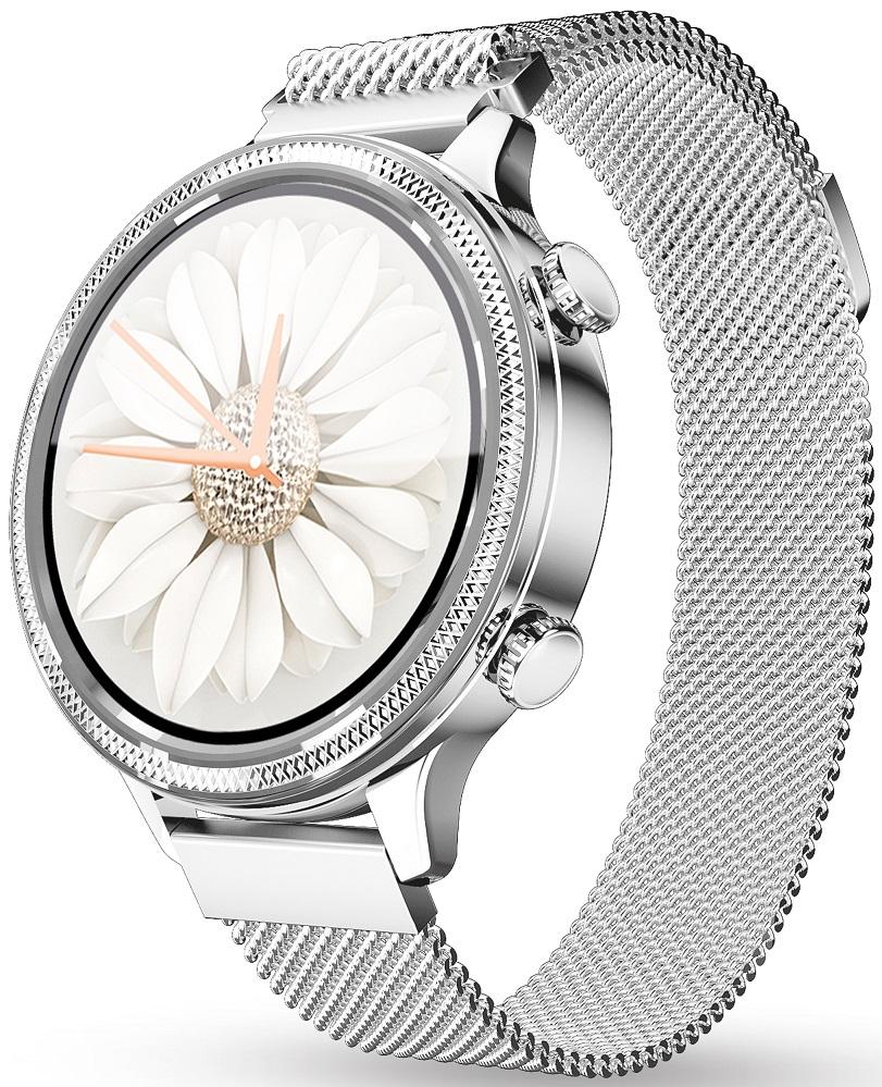Aligator Watch Lady stříbrné