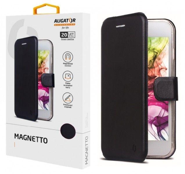 Pouzdro Aligator Magnetto Xiaomi Redmi 9C, Black