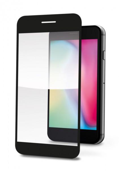 tvrzené sklo pro mobilní telefon Ochranné tvrzené sklo Aligator Print, Vivo Y72 5G, černá, celoplošné lepení