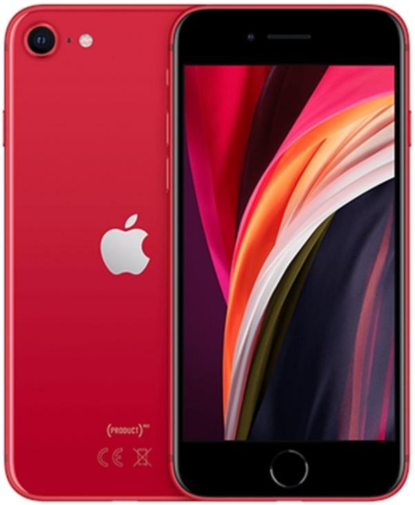 Apple iPhone SE 2020 64GB červená