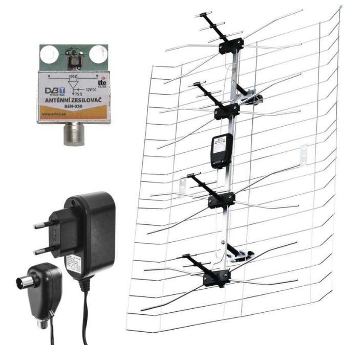 EMOS J0666 EMOS ASP-30 venkovní anténa 45 dBi LTE/4G filtr
