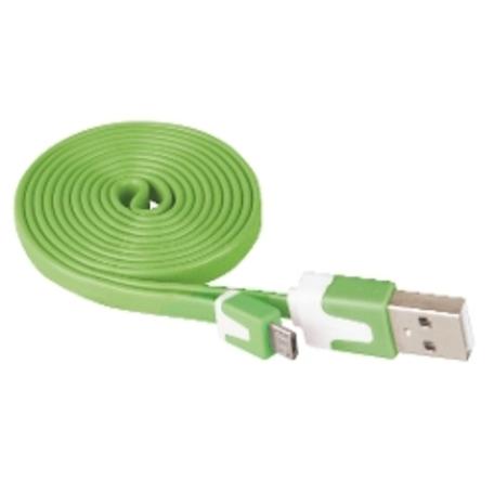 EMOS SM7001G USB 2.0 A/M - micro B/M 1M G - Emos SM7001G USB 2.0 A/M - micro B/M, 1m, zelený