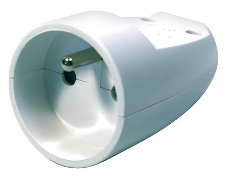 EMOS P0041 samostatná zás. 250V/16A,bílá