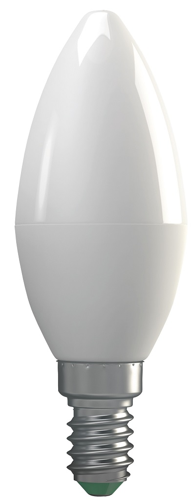 Emos LED žárovka Classic Candle 4W E14 teplá bílá