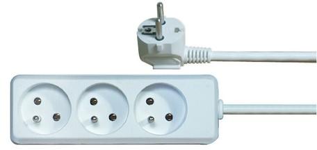 EMOS P0311 PRIVOD PRODLUZ.3Z 1,5M - Prodlužovací kabel 1,5m 3 zásuvky bílý