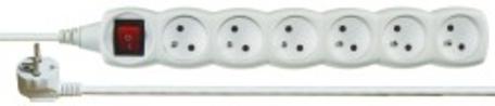 EMOS P1612 PRIVOD PRODL.6Z 2M S VYP. - Prodlužovací kabel 2m 6 zásuvky vypínač