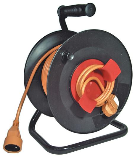 EMOS P19150 PVC prodlužovací kabel na bubnu - spojka 50m - Prodlužovací kabel 50m