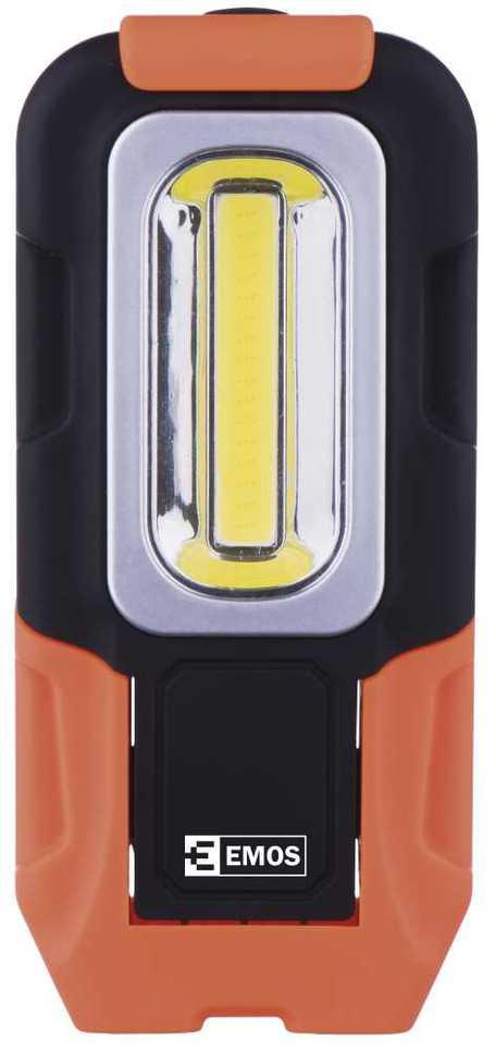 EMOS P3888 LED svítilna plastová, 3W COB LED, na 3x AAA