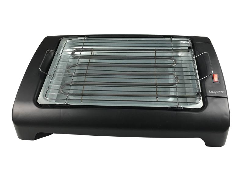 BEPER BT400 elektrický BBQ gril pro grilování bez kouře, 2000W