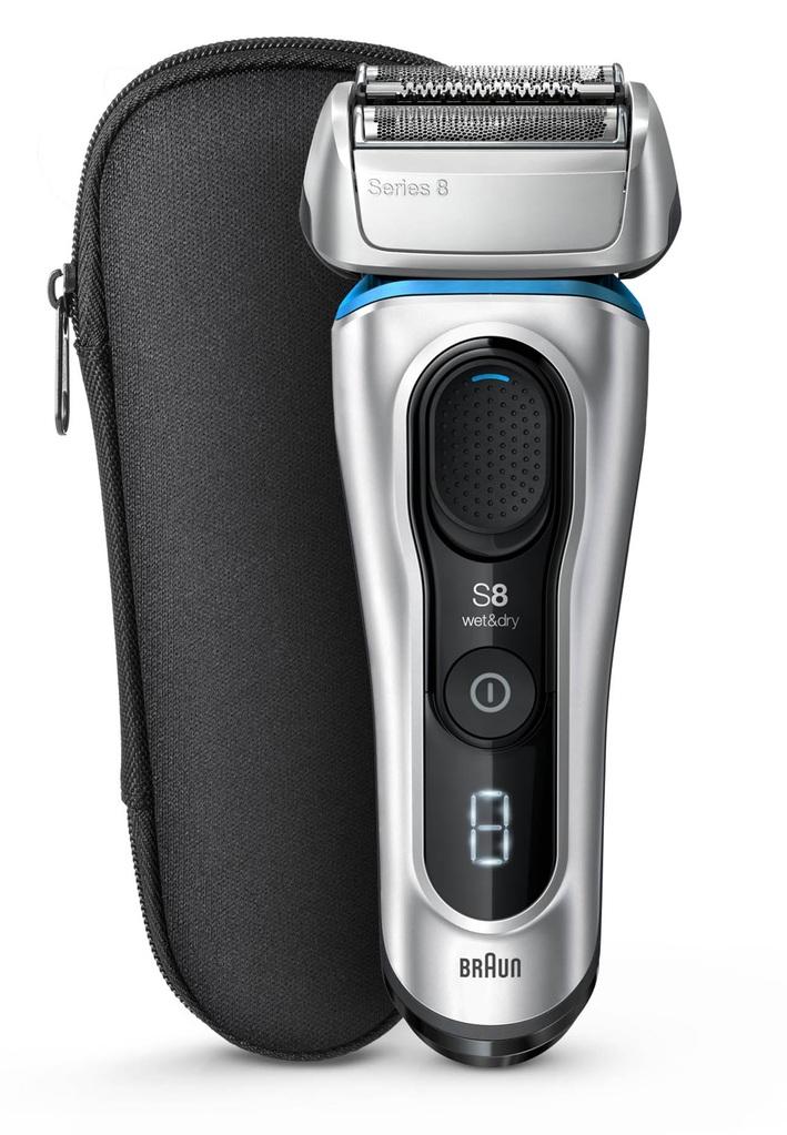 Braun Series 8 8350s stříbrná/modrá