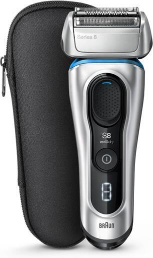Braun Series 8 8330s stříbrná/modrá