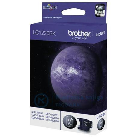 BROTHER LC1220BK - Brother LC-1220BK - originální