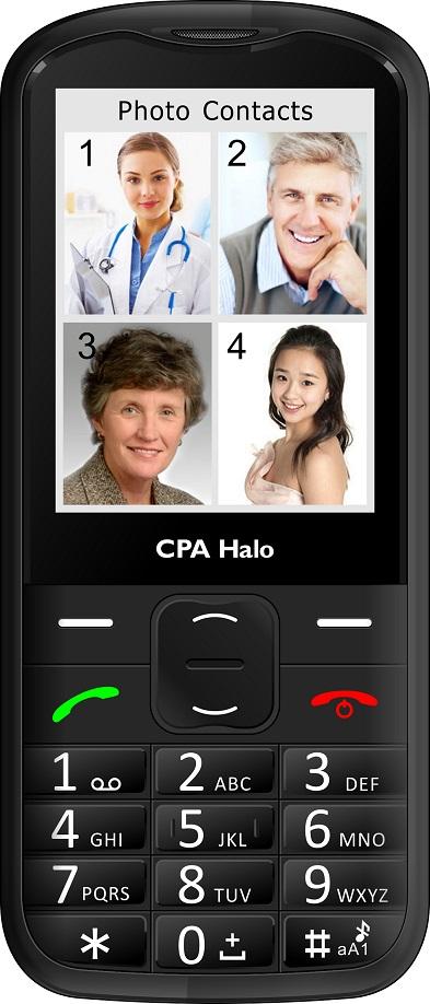 CPA Halo 18 černý