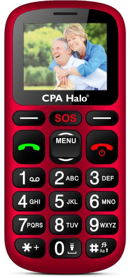 CPA Halo 16 červený s nabíjecím stojánkem