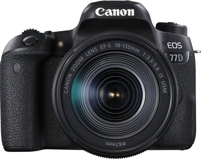 Canon EOS 77D + EF-S 18-135mm IS USM Value Up Kit 1892C034