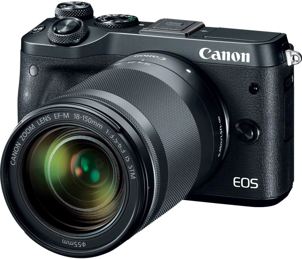 Canon EOS M6 černá + EF-M 18-150mm IS STM
