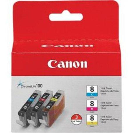 CANON CLI-8 C/M/Y Pack + DOPRAVA ZDARMA
