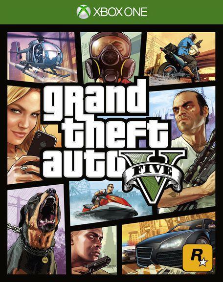 HRA XONE Grand Theft Auto 5