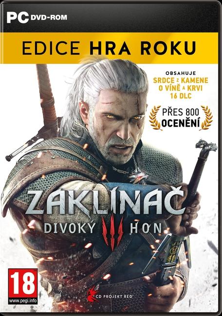 Zaklínač 3: Divoký hon Edice Hra Roku (PC)