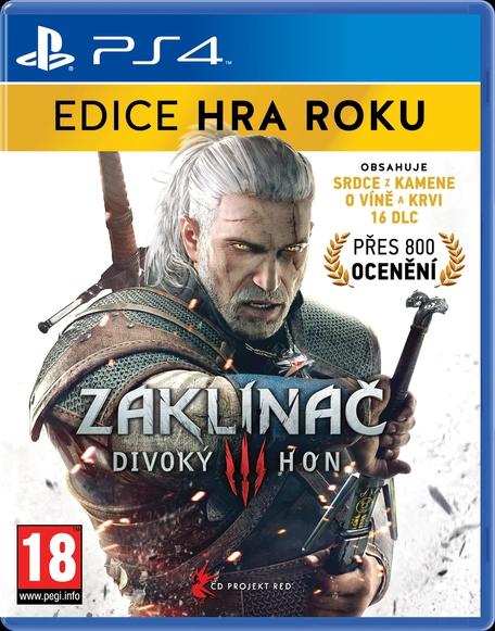 Zaklínač 3: Divoký hon Edice Hra Roku (PS4)