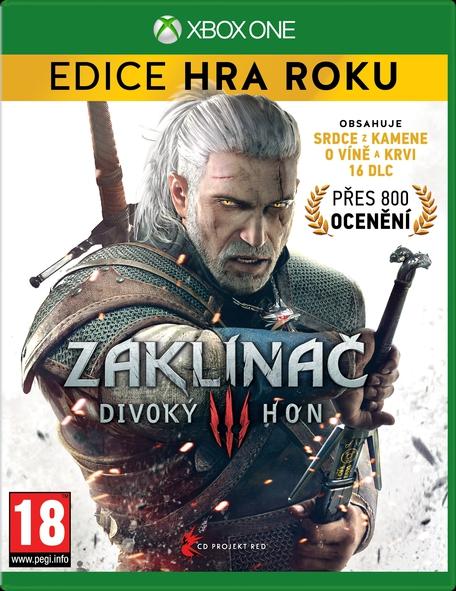 Zaklínač 3: Divoký hon Edice Hra Roku (Xbox One)