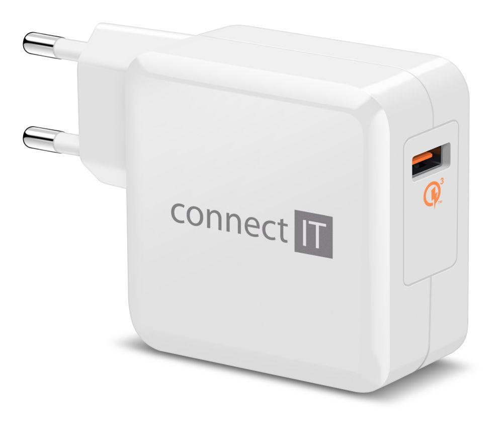 Connect IT CWC-2010 bílá - Nabíječka Connect IT CWC-2010 - neoriginální