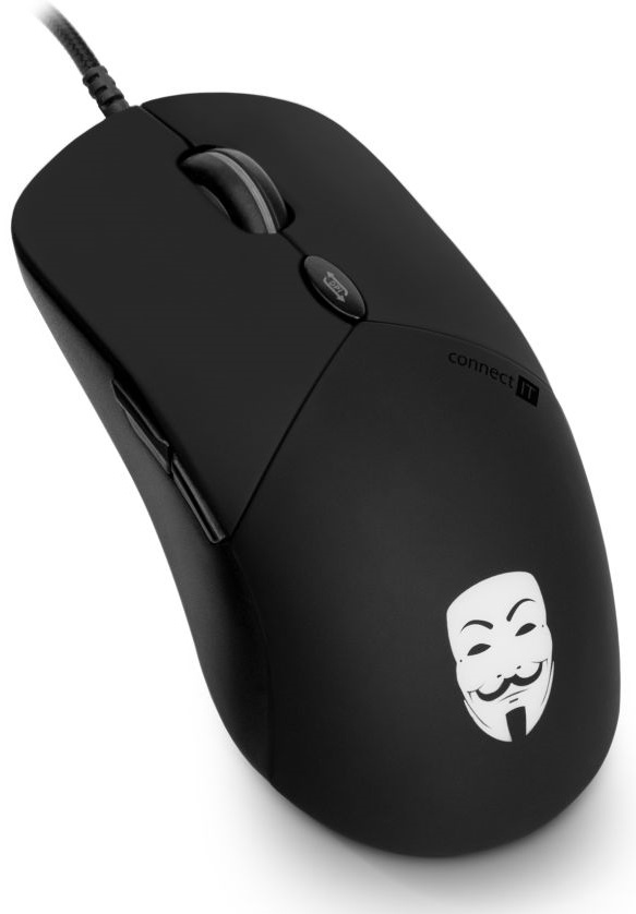 Connect IT Anonymouse CMO-3570-BK