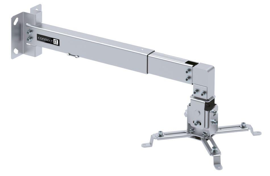 Connect IT Spider držák projektoru na zeď CMF-7020-SL stříbrná