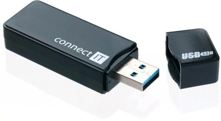 CONNECT IT CI-104 USB 3.0 čtečka karet