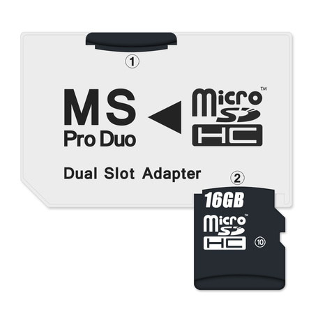 CONNECT IT CI-49 adapt MSPRODUO -microSD