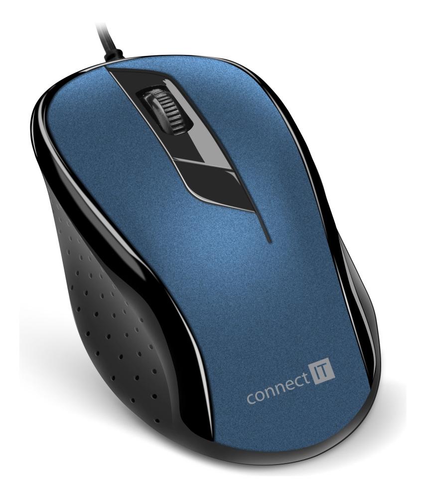 Connect IT CMO-1200 modrá - Connect IT CMO-1200-BL