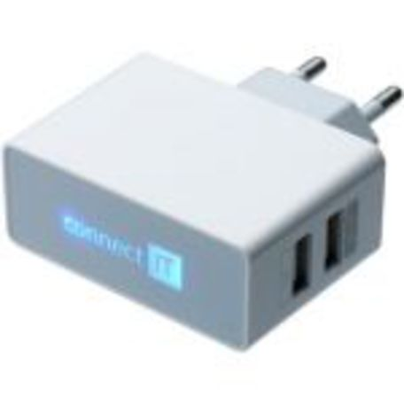 CONNECT IT CI-151 adapt.230V-2xUSB bílý