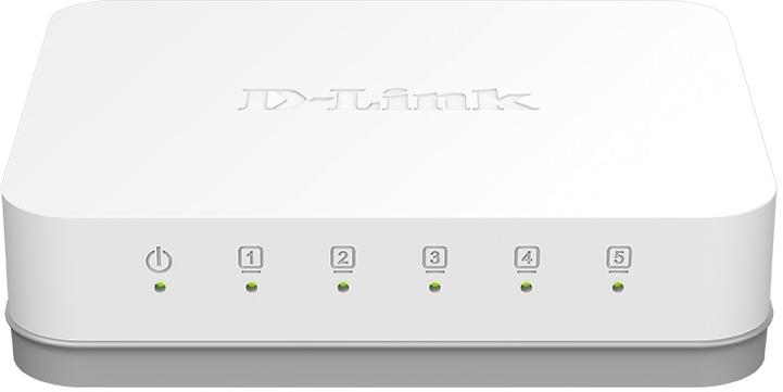 D-LINK 5-Port Gigabit Switch (GO-SW-5G)