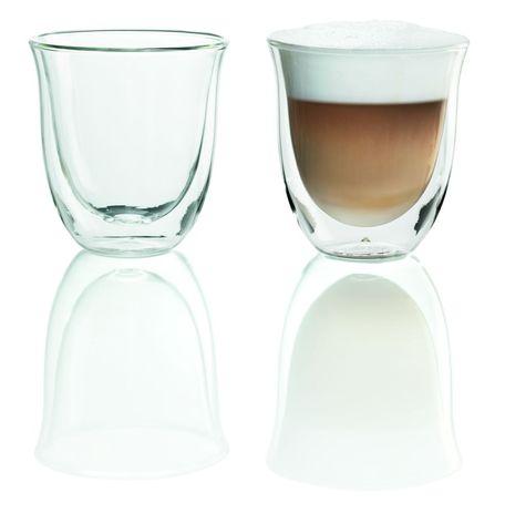 De'Longhi Cappuccino skleničky - DeLonghi Skleničky na cappuccino set 2 ks 0,19l
