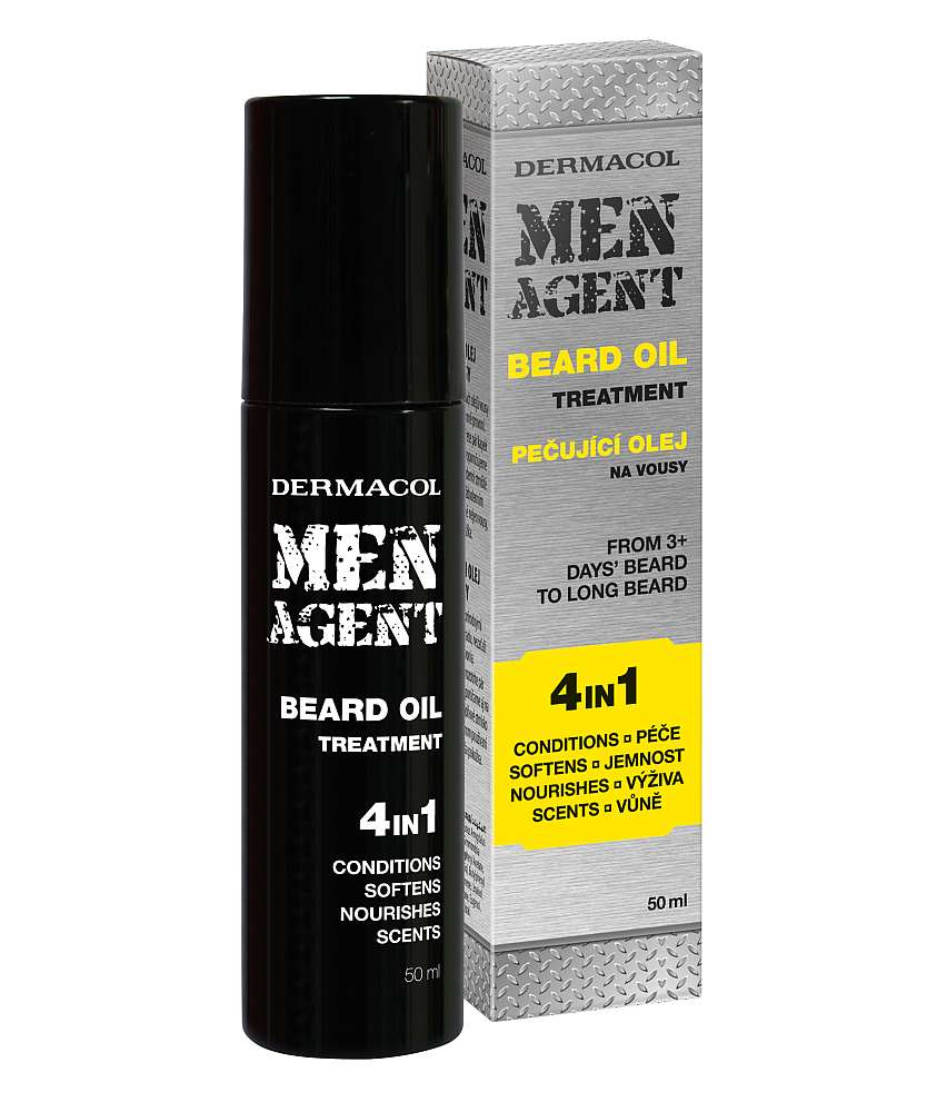 Dermacol Men Agent Beard Oil 4in1 50ml