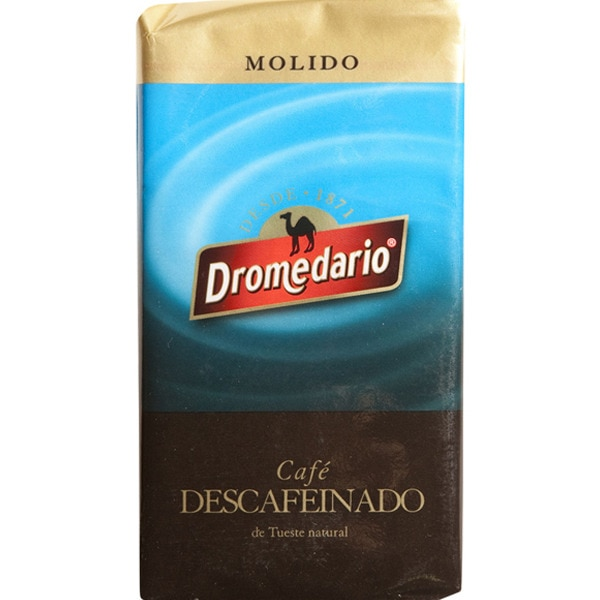 Dromedario mletá káva bez kofeinu 250g