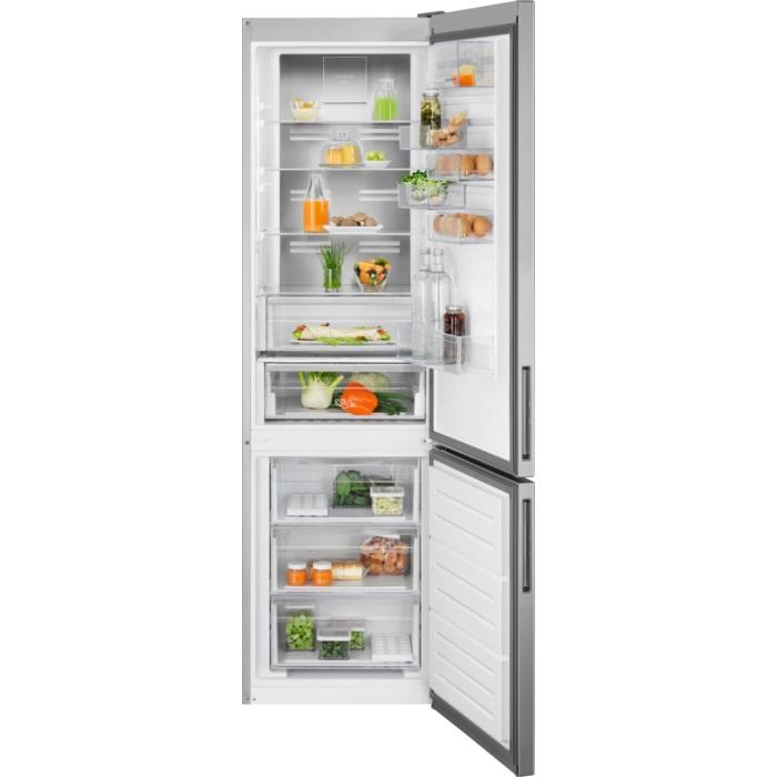 Electrolux lednice s mrazákem dole Lnt7me34x2