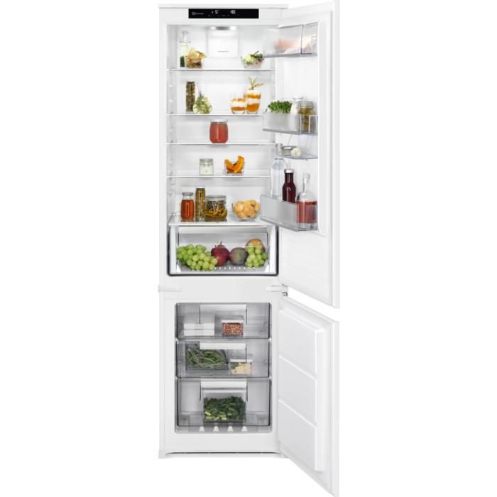 Electrolux lednice s mrazákem dole Nofrost Ens6te19s
