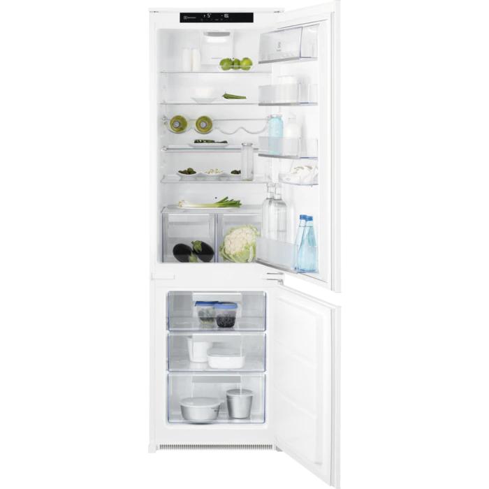 Electrolux lednice s mrazákem dole Flexishelf Knt4fd18s