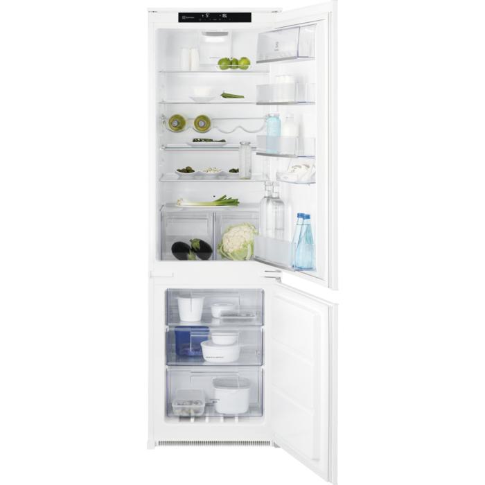 Electrolux lednice s mrazákem dole Flexishelf Lnt7te18s