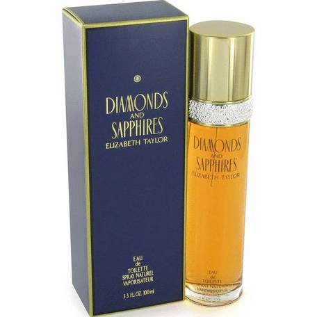 Elizabeth Taylor Diamonds and Sapphires - toaletní voda - 100 ml - Elizabeth Taylor Diamonds and Saphires toaletní voda dámská 100 ml