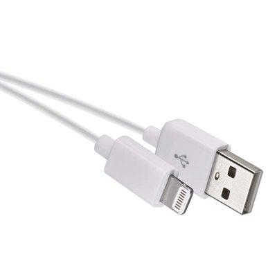 Emos USB kabel 2.0 A/M - i16P/M 1m bílý - Emos SM7014W USB 2.0 A/M - i16P/M, 1m, bílý