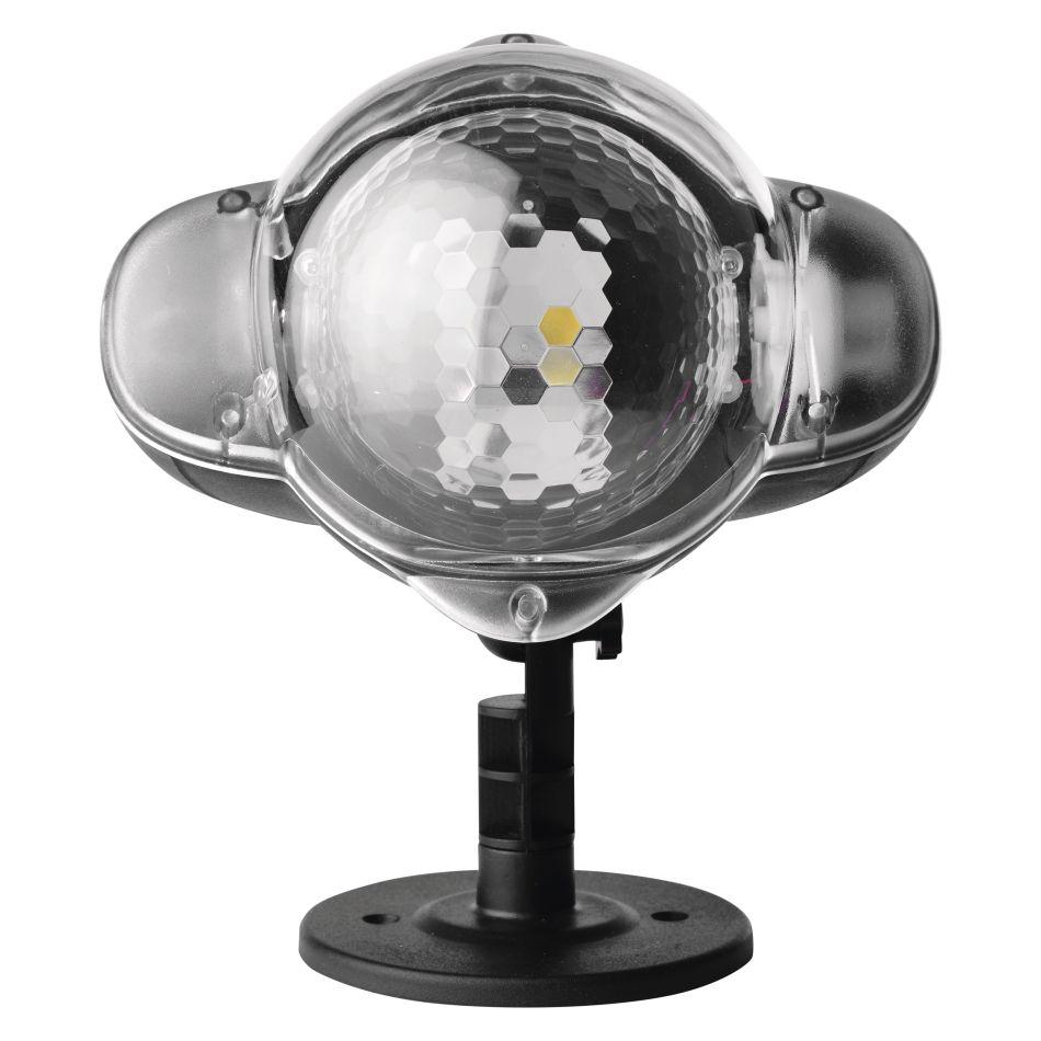 Emos LED projektor venkovní vločka