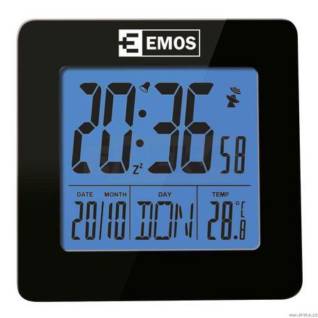 EMOS E0113 Budík digitální rádiem řízený E0113