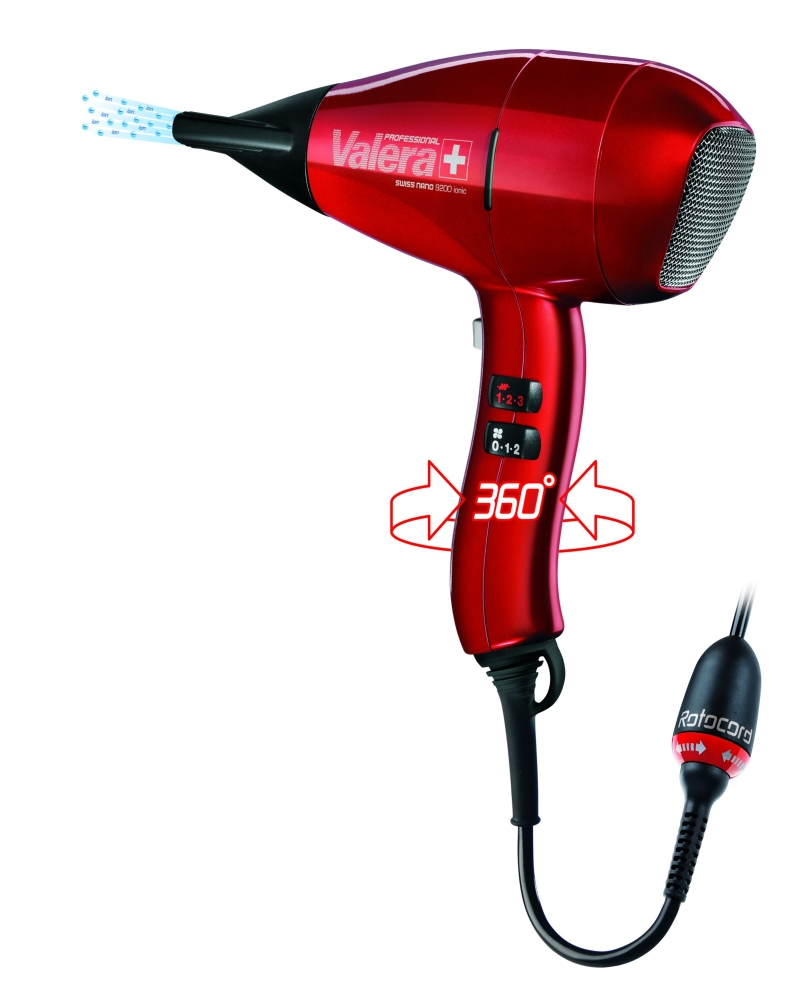 Valera fén na vlasy Swiss Nano 9200 Ionic Rotocord
