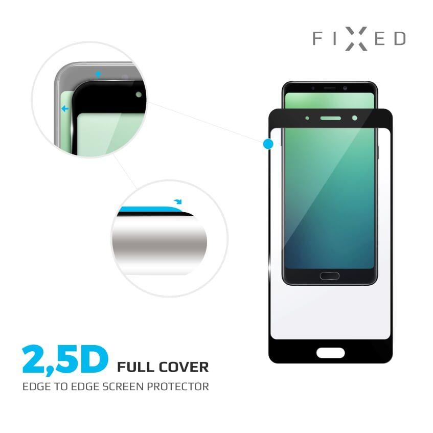 Fixed FullGlue-Cover pro Xiaomi Redmi 7A lepení přes celý displej černé - FIXED pro Xiaomi Redmi 7A FIXGFA-423-BK