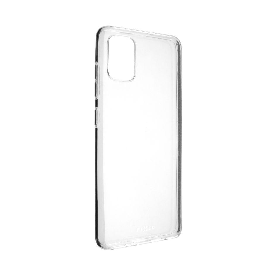 FIXED ultratenké TPU gelové pouzdro Skin pro Samsung Galaxy A51 FIXTCS-483, čiré