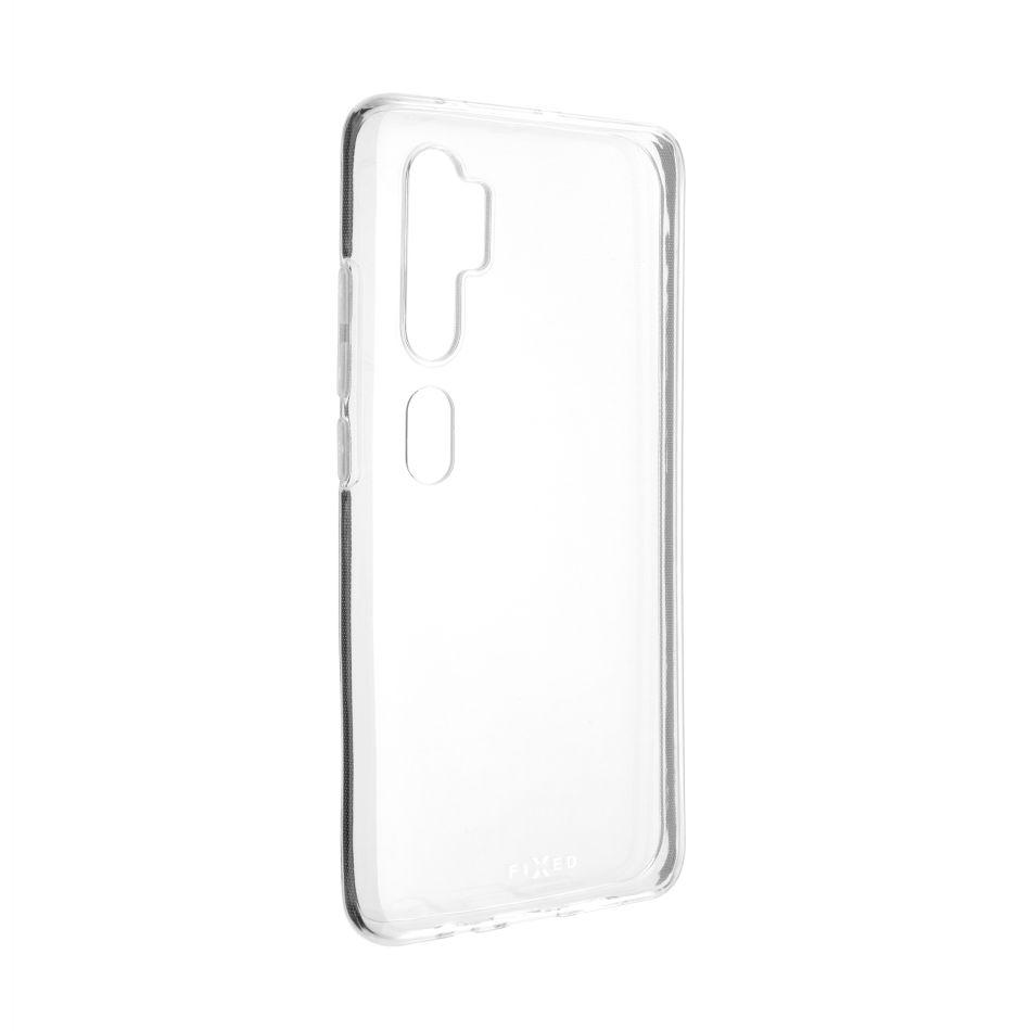 Fixed TPU gelové pouzdro pro Xioami Mi Note 10, čiré (FIXTCC-481)